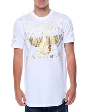 Men - S/S Rhinestones Graphic Tee