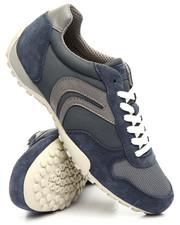 Men - Snake Mesh & Suede Sneakers