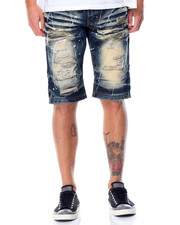 Shorts - Paint Splatter Denim Shorts