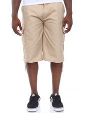 Men - Multi Pockets Belted Cargo Shorts