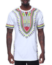 Shirts - S/S Tribal Printed Tee