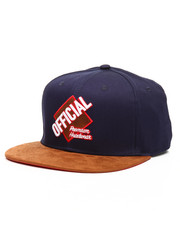 Official Brand - Grand Slam Snapback With Suede Visor