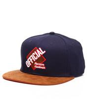 Hats - Grand Slam Snapback With Suede Visor