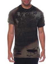 Shirts - Distressed Bleached Tee