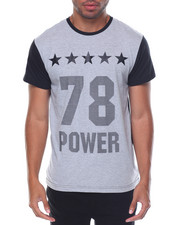 Buyers Picks - S/S Contrast Color Crewneck  Number Tee