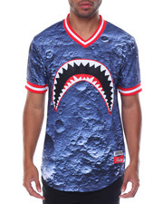 Shirts - Shark Mouth Baseball Jersey