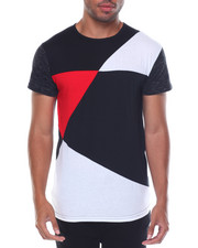 Buyers Picks - S/S Colorblock Crew Neck Tee
