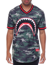 Men - Shark Mouth Baseball Jersey