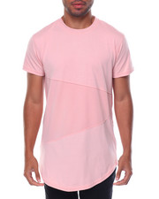 T-Shirts - Mesh Color-block