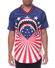 Men - Shark Mouth Rays Baseball Jersey