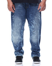 Big & Tall - Rip & Repair Jeans B&T)
