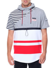 Parish - S/S NationStripe Hood Knit
