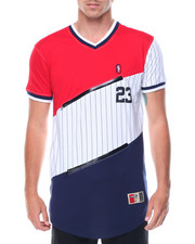 T-Shirts - Color-block Jersey
