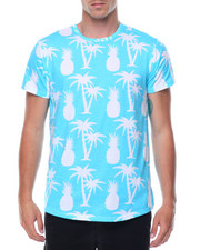 T-Shirts - S/S All Over Print Crew Neck Tee
