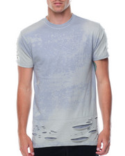 T-Shirts - Distressed Bleached Tee