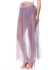 Fashion Lab - Mesh Maxi Skirt