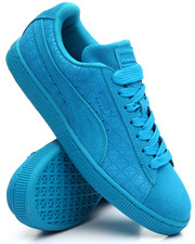 Men - Suede on Suede Sneakers