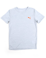 Boys - Logo Heather Tee (8-20)