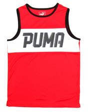 Boys - Puma Muscle Tank (8-20)
