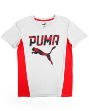 Sizes 8-20 - Big Kids - Puma V-Neck Tee (8-20)