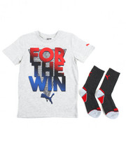 Puma - Graphic Tee & Sock Set (8-20)