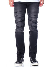 Men - Ripped Knee Jeans
