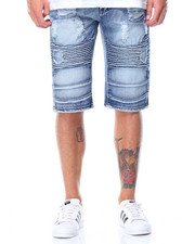 Buyers Picks - Rip & Repair Moto Denim Shorts