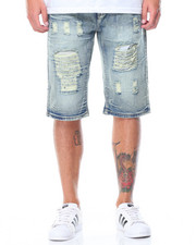 Men - Rip & Repair Denim Shorts