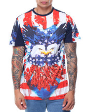 Shirts - S/S Flag Burst Tee