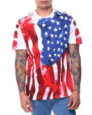 Men - Short Sleeve Flag Tee