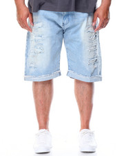 Southpole - Rip & Repair Denim Short (B&T)