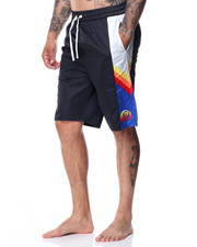 Pink Dolphin - Ocean Sunset Board Shorts