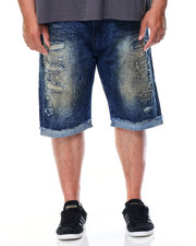 Men - Rip & Repair Denim Short (B&T)