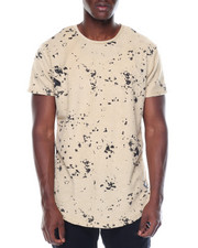Men - Paint Splatter Reverse French Terry S/S Tee/Zippers