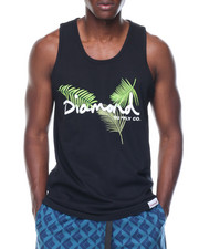 Diamond Supply Co - Paradise OG Script Tank