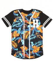 Arcade Styles - Floral Baseball Tee (8-20)