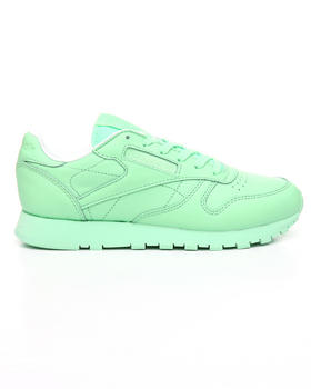 Shoes - CLASSIC LEATHER PASTEL SNEAKERS