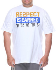 Men - Respect Is Earned Tee (B&T)