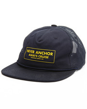Men - Never Anchor Trucker Cap