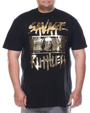 Shirts - Savage Ruthless Foil Tee (B&T)
