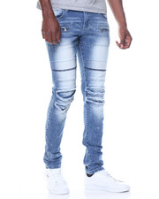 Kilogram - Multi Paneled Rip Jean
