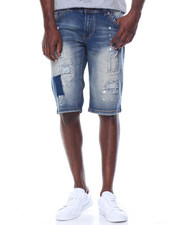 Buyers Picks - Patches Stretch Denim Shorts