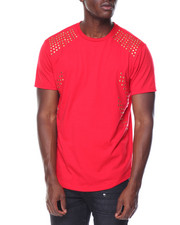 Men - Multi Studded Crew Neck Tee
