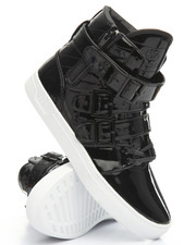 Men - Straight Jacket Oil Patent Leather VLC High Top Sneaker