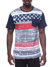 T-Shirts - Mens Black Americana Tee