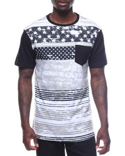 T-Shirts - Mens Black Americana Tees