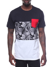 T-Shirts - S/S Pocket Printed Tee