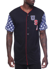 Men - USA Baseball Tee