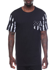 Men - Mens Black Americana Tees