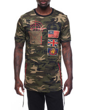 Men - Patch Camo T-Shirt